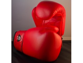 Boxing - Full Contact Red Leather