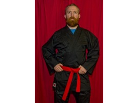 Judo Suit Black - Adult Sizes
