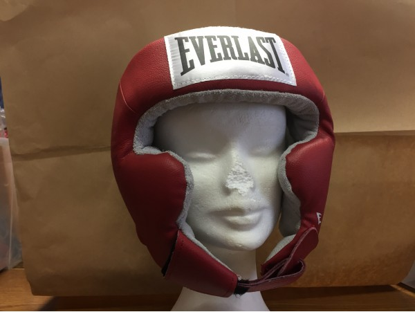 EVERLAST Head Guard Leather