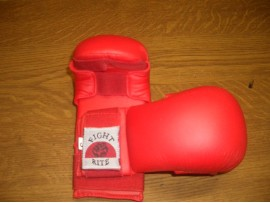 Karate Mitts Vinyl - Red