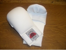 Karate Mitts Vinyl - White