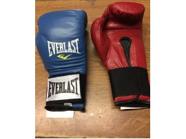 EVERLAST LEATHER BOXING GLOVE
