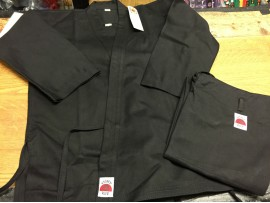 16oz Karate Suit Black